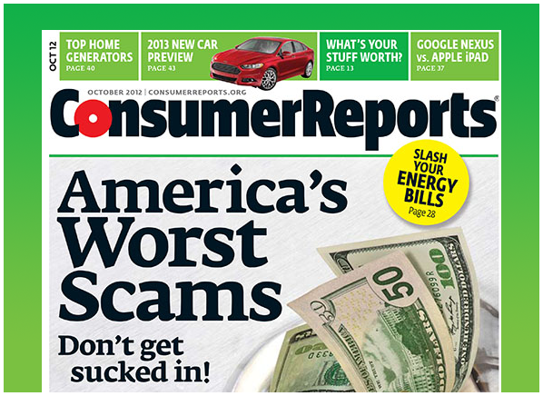 magazine report consumer's