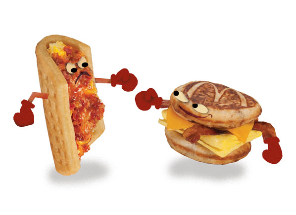 Taco Bell Waffle Taco Vs Mcdonald S Mcgriddles Consumer