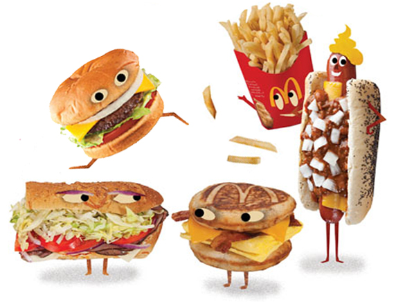 What state or city in america has the most fast food places?
