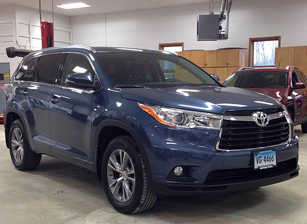2014 Toyota Highlander Just In Consumer Reports News