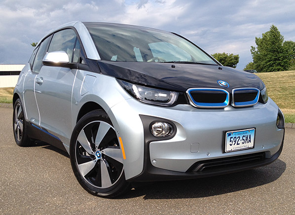 Plugged Into Our New Quick And Quirky 2015 Bmw I3 Electric