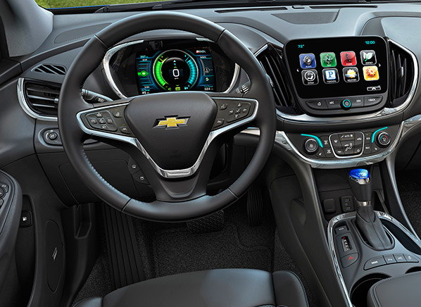 Big Strides in 2016 Chevrolet Volt Aren't Electric ...