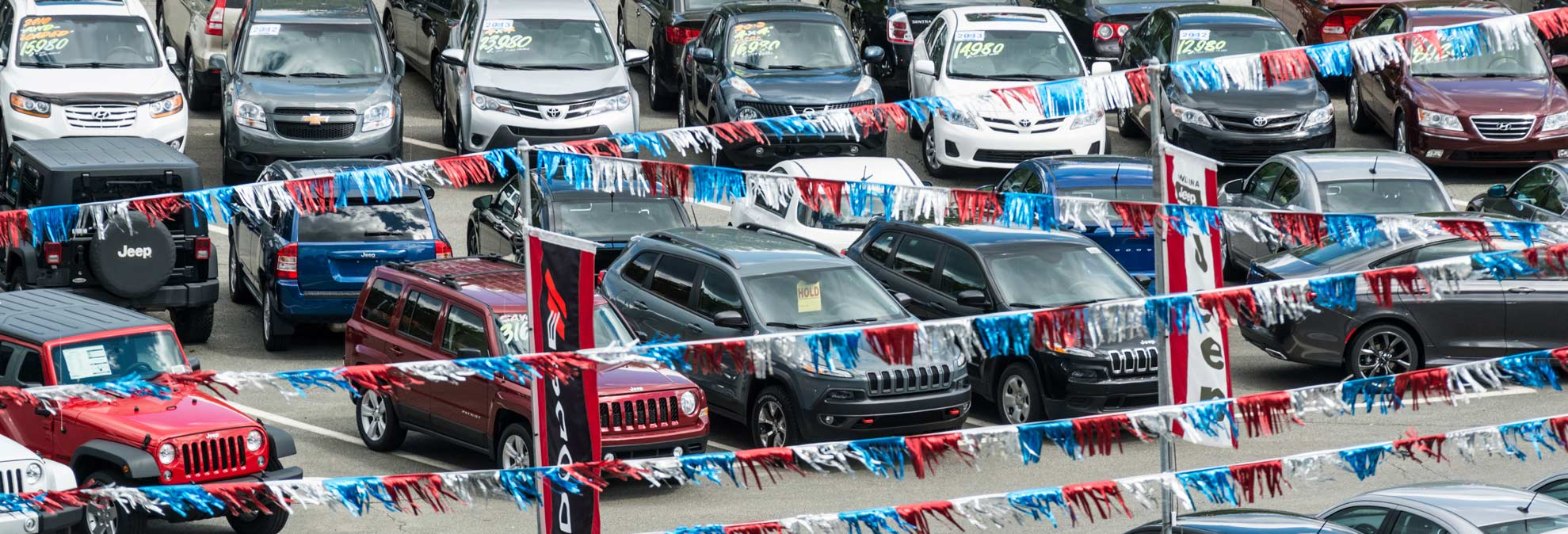 Labor Day Used Car Deals