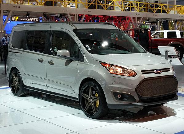 Ford Transit Connect 2014 Detroit Auto Show Consumer