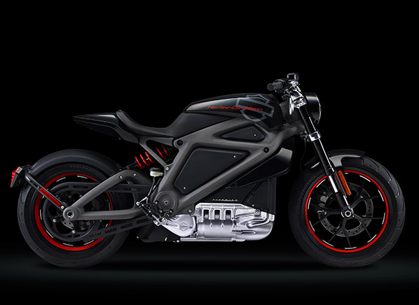 Harley Davidson Unveils An Electric Motorcycle And Worlds