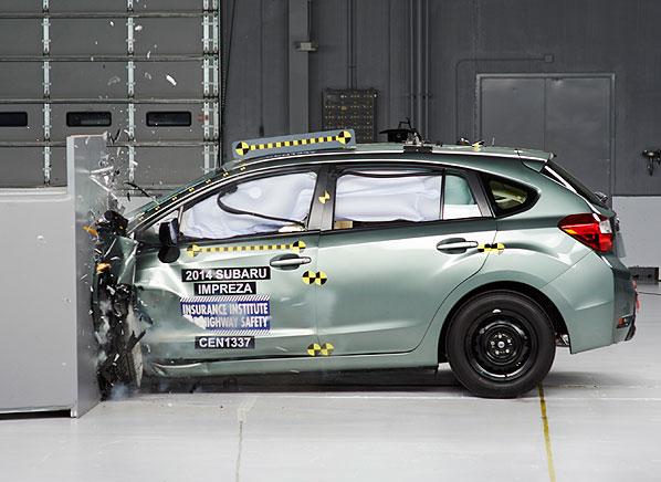 Subaru Impreza Xv Crosstrek Earn Top Crash Test Score