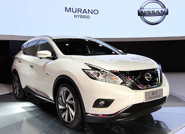 hybrid nissan murano suv makes auto show appearance consumer reports. Black Bedroom Furniture Sets. Home Design Ideas