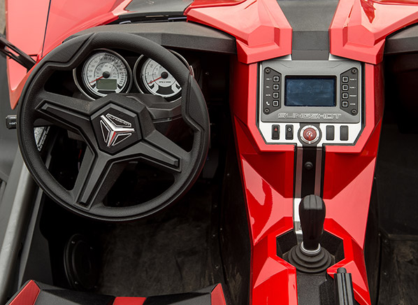 Radical Polaris Slingshot Is Part Car Part Motorcycle