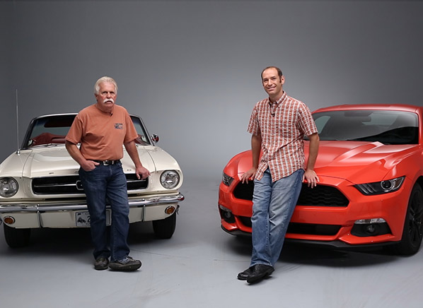 Talking Cars Video Podcast 47 2015 Ford Mustang And Wayne