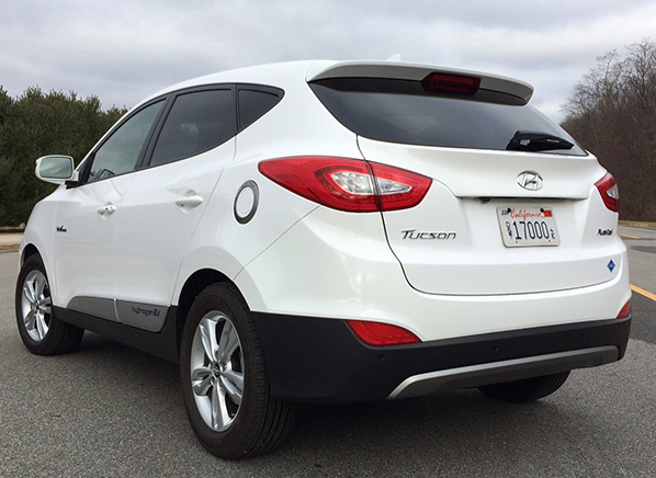 First Drive Hyundai Tucson Fuel Cell Vehicle Consumer