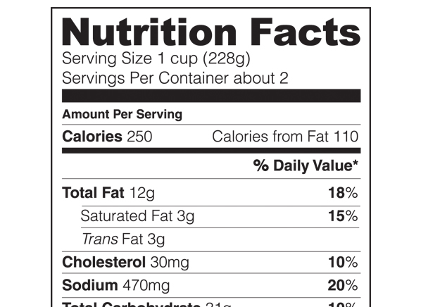 Nutrition Facts | New Food Labels - Consumer Reports News