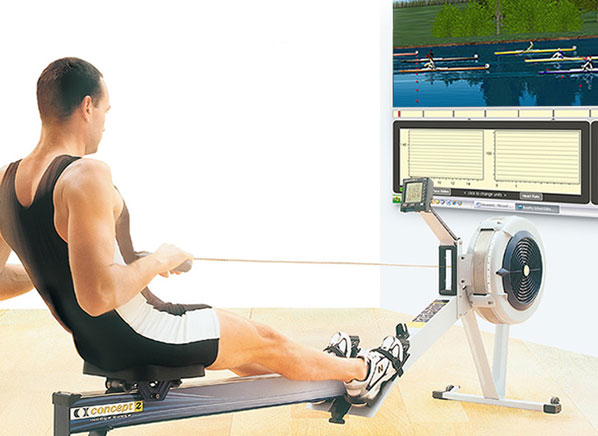 Rowpro Simulator For Concept 2 Rower Video Games