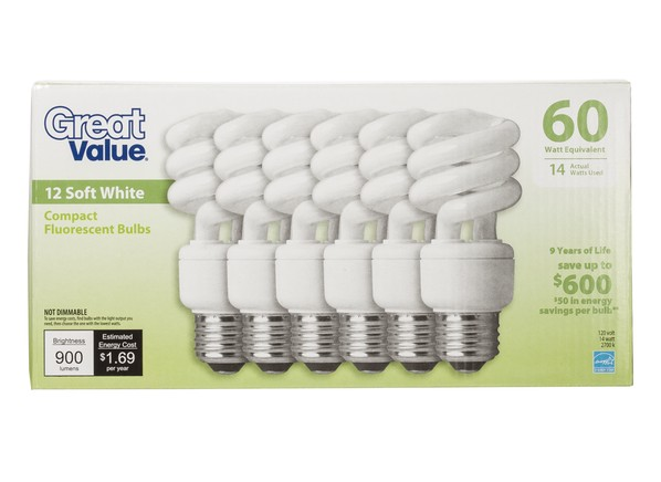 Best Leds And Cfls From Walmart Lightbulb Reviews