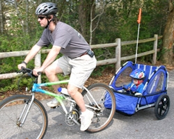 Bicycle Seats Vs Bike Trailers For Children