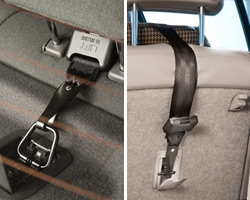 Toddler Booster Seat >> The top tether and forward-facing car seat installations