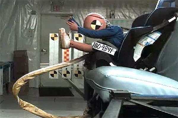 Car Seat Crash Test Safety Ratings