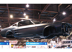 Build Your Own Mustang >> 2007 Sema Build Your Own New 1967 Mustang Fastback