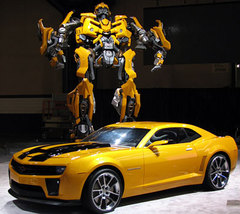 Attention Earthlings: 2010 Chevrolet Camaro Transformer Special Edition