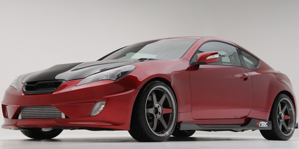 2010 SEMA Show: Hyundai Genesis Coupe Showcases Performance Parts Coming To  Dealerships