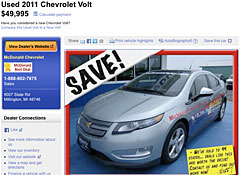 Used Chevy Volt For Sale >> Chevrolet Volt Tax Credit Consumer Reports