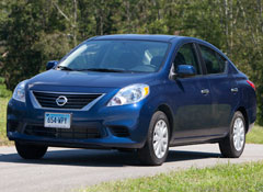 The 2012 Nissan Versa Redesign Is Staying Behind Competitors
