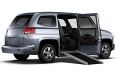 New Car Company Builds Special Van For Disabled Drivers The Vehicle Production Group Mv 1
