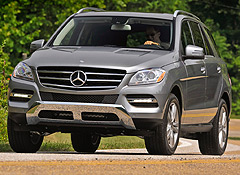 Just In: 2012 Mercedes-Benz ML350