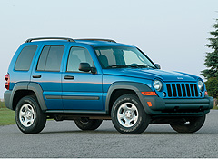 2004-05 jeep liberty suvs recalled for rear suspension issues