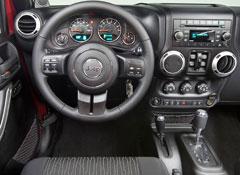 2012 Jeep Wrangler Dash