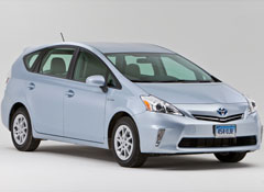 Toyota Motor Corp Announced A Service Campaign To Fix Its Brand New Prius V Wagon Like Vehicle In Wildly Por Gas Electric Hybrid Line