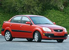 2006-08 Kia Rio sedans recalled due to front air bag sensor