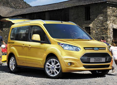 & Redesigned 2014 Ford Transit Connect van keeps the utility adds style markmcfarlin.com