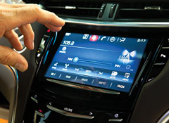 New Cadillac CUE infotainment system frustrates