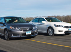 Consumer Reports Has Completed Testing Several New Or Updated Family Sedans And The Results Are A Bit Mixed Honda Accord