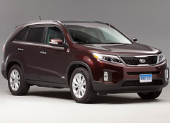 refreshed 2014 kia sorento enters our test program with a. Black Bedroom Furniture Sets. Home Design Ideas