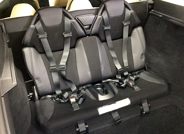 Our Tesla Model S gets a thirdrow seat and now seats seven