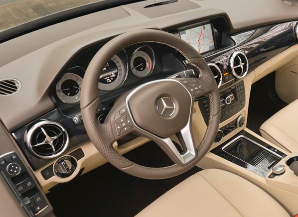Diesel Powered Mercedes Benz Glk250 Boasts 33 Mpg