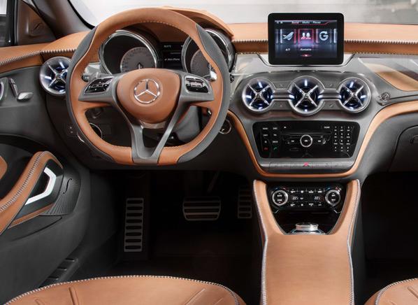 Striking Mercedes-Benz SUV concept boasts laser beams, 3D