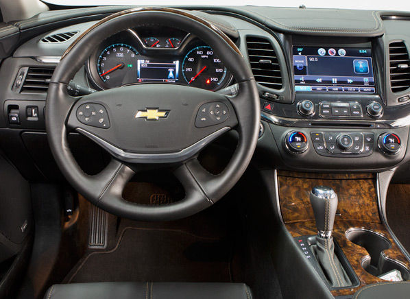 Video 2014 Chevrolet Impala Declares The Lackluster Days