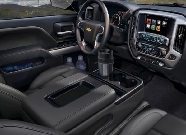 2014 Chevrolet Silverado Interior Side