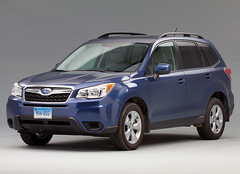 A New Small Suv Champion Has Been Named The 2017 Subaru Forester This Redesigned Model Earned An Impressive Road Test Score Of 88 Points Out 100