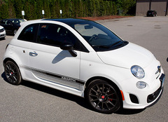 Just in: Fiat 500 Abarth sounds good at our track
