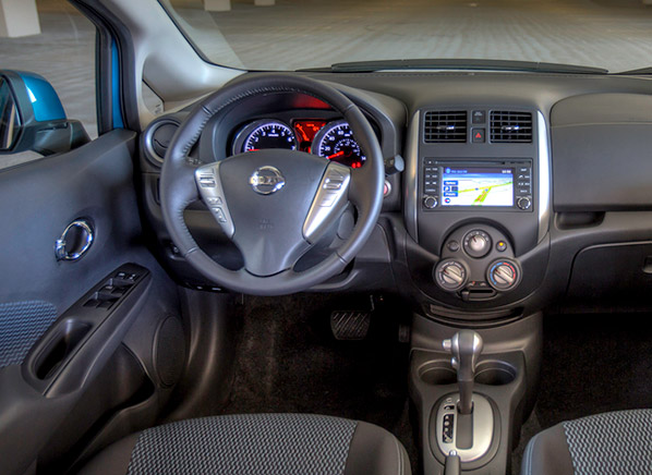 2014 Nissan Versa Note Int