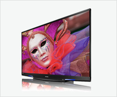 mitsubishi adds new 75-inch laservue 3d tv, offers 3d starter-pack