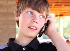 "Nearly six out of 10 U.S. parents of children ages 8 to12 (a.k.a.  ""tweeners"" or tweens) have provided those children with cell phones."