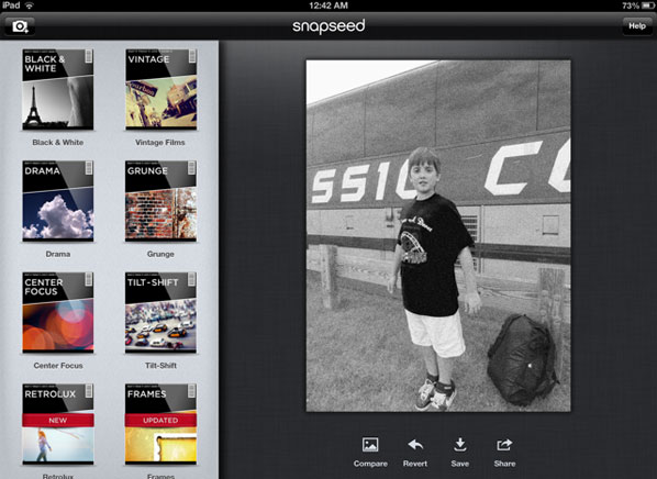 Review: Snapseed app offers simple, fun image editing on