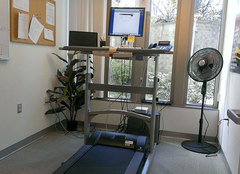 Sit too much? 4 tips to using a desk treadmill