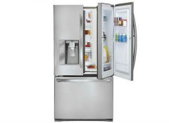 Refrigerator doors continue to get more innovative with the debut this week of LGu0027s Door-in-Door French-door bottom-freezer. The 31 claimed-cubic-foot ...  sc 1 st  Consumer Reports & The Hidden Compartment in the LGu0027s French Door Fridge - News