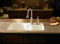 Advances In Countertops Result In Seamless Sinks For Less