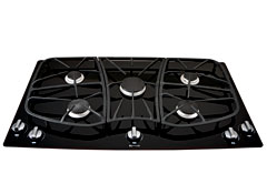Jenn-Air is the more repair-prone cooktop in our survey